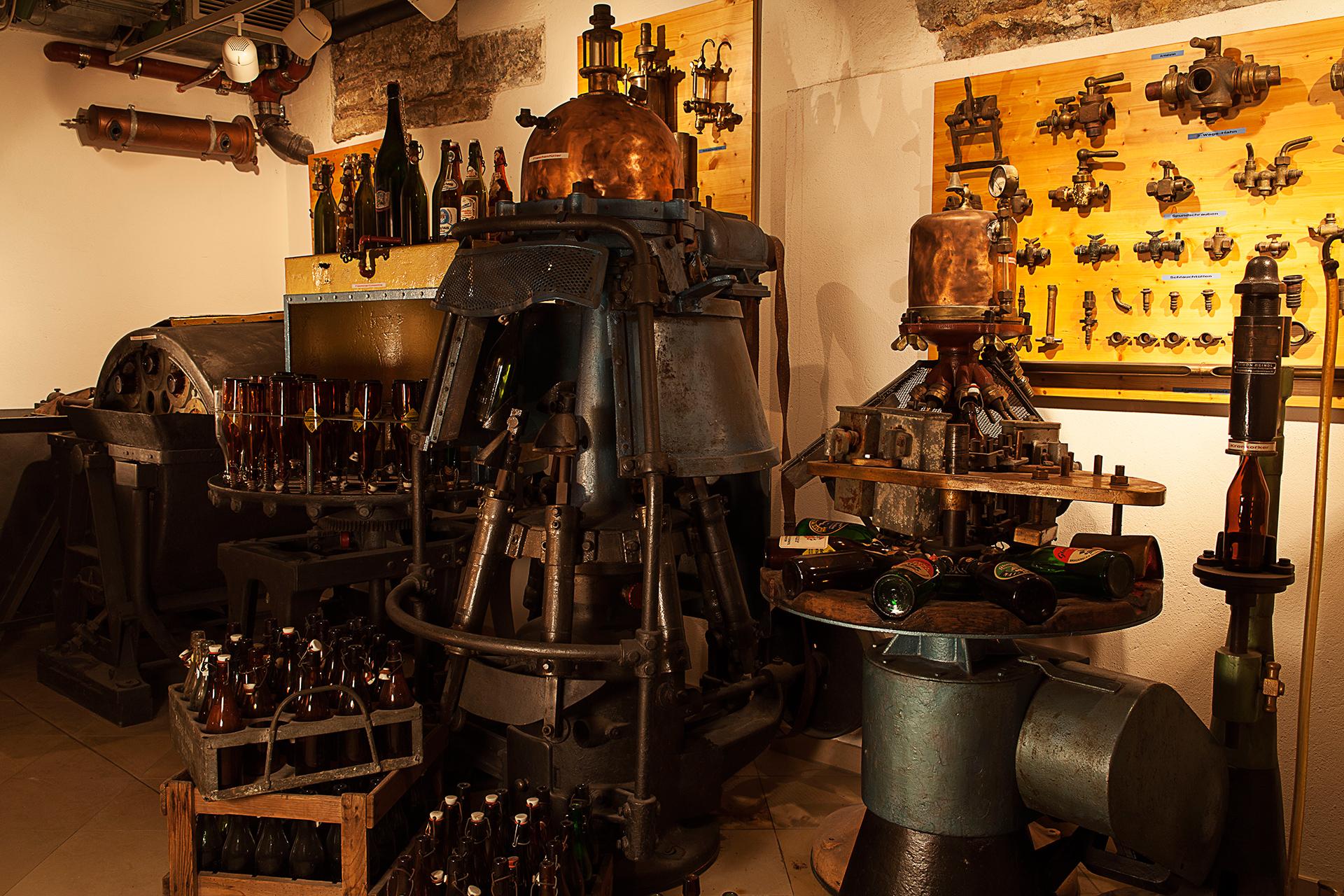 Gerätschaften im Brauereimuseum