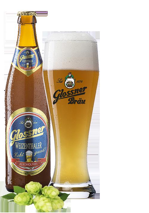 Glossner Weizenthaler Alkoholfrei