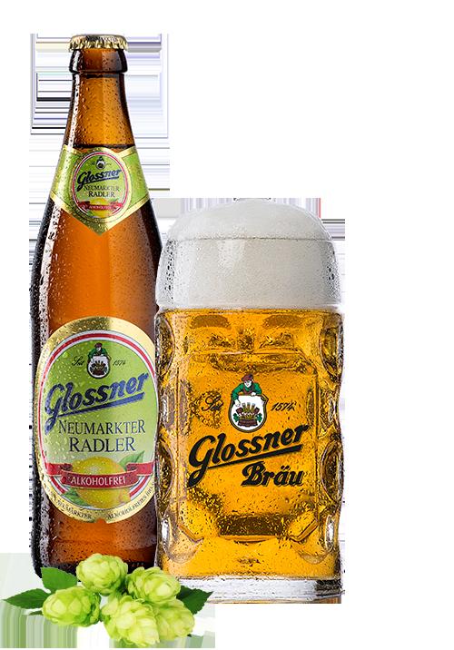 Glossner Neumarkter Bio Radler Alkoholfrei